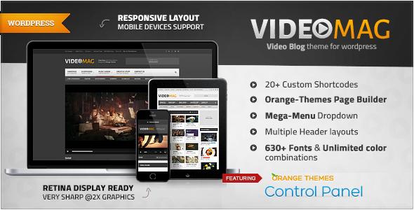 VideoMag – Powerful Video WordPress Theme