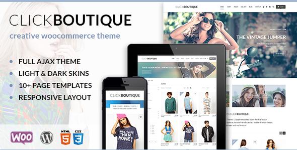 Click Boutique – WordPress WooCommerce Theme