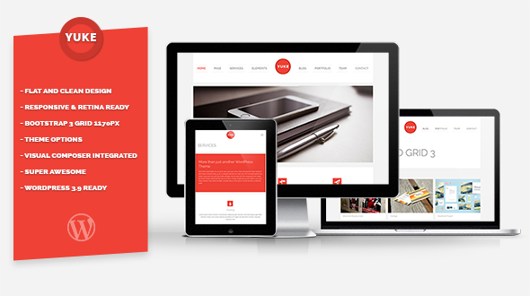 Yuke WordPress Theme for Corporate