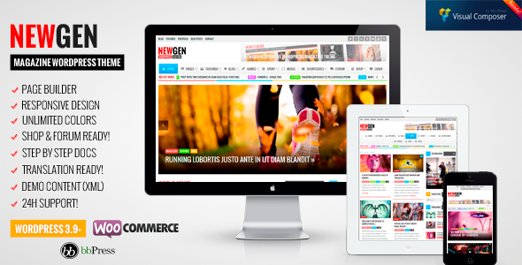 Newgen – Responsive News/Magazine WordPress Theme
