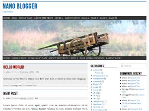 nano blogger