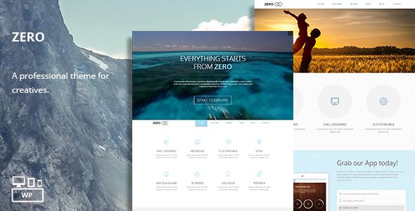 Zero – Multi-Purpose WordPress Theme