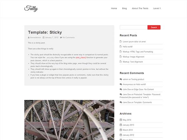Tally Framework