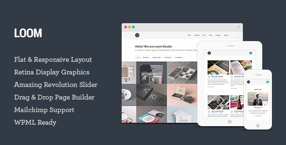 Loom – Multipurpose Responsive WordPress Theme