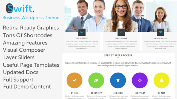 Swift – Business WordPress Theme