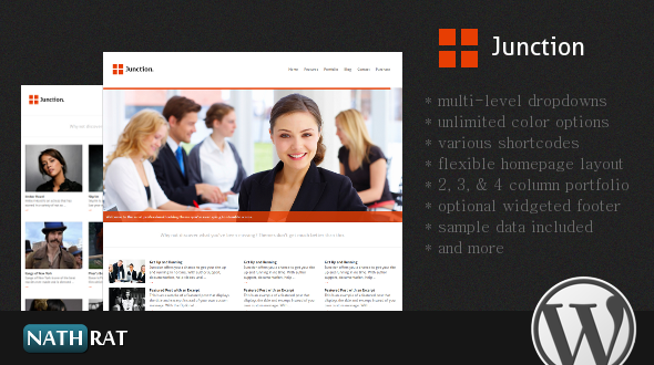 Junction – A Professional WordPress Theme