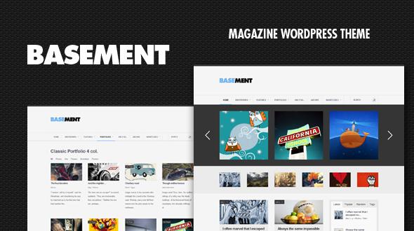 Basement – Clean Magazine Theme