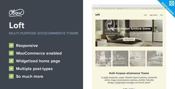 Loft – Multi-Purpose WooCommerce Theme