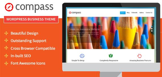 Compass Business WordPress Theme
