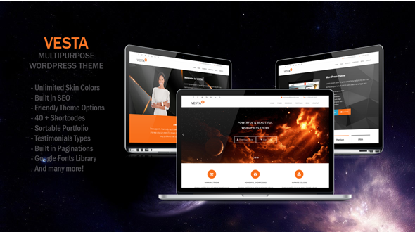 Vesta – MultiPurpose WP Theme