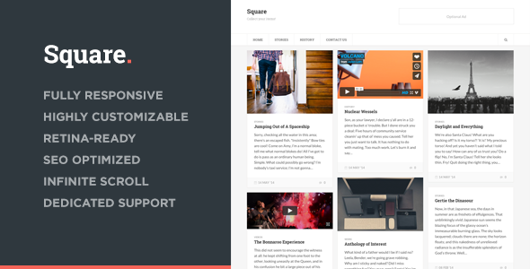Square – Responsive Multi-Purpose Theme