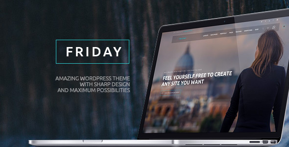 Friday – Multi-Purpose Ultimate WordPress Theme