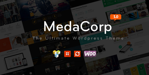 MedaCorp – The Ultimate WordPress Theme