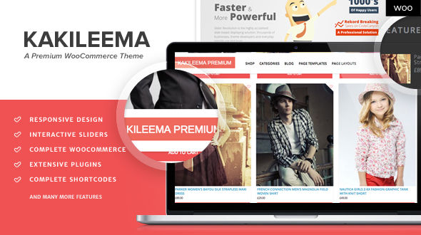 Kakileema – Responsive Fashion Woocommerce Themes
