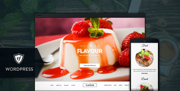 The Flavour – Restaurant WordPress Theme