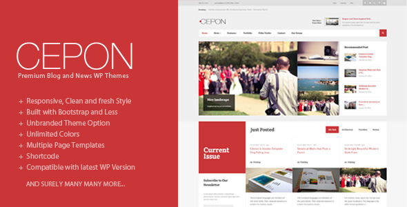 Cepon – News and Magazine WordPress Themes