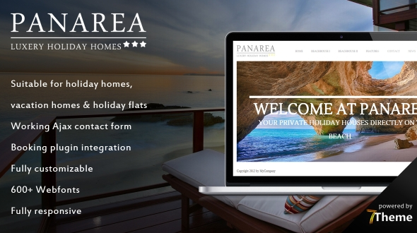 Panarea – Holiday WordPress Theme for Holiday Houses