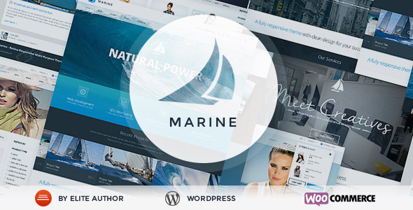 Marine – Retina Responsive Multi-Purpose Theme