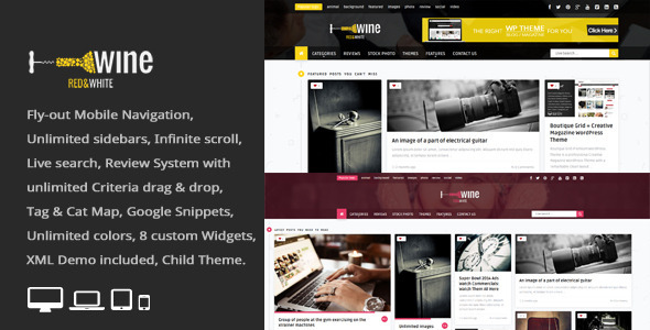 Wine Masonry – Review WordPress News / Magazine