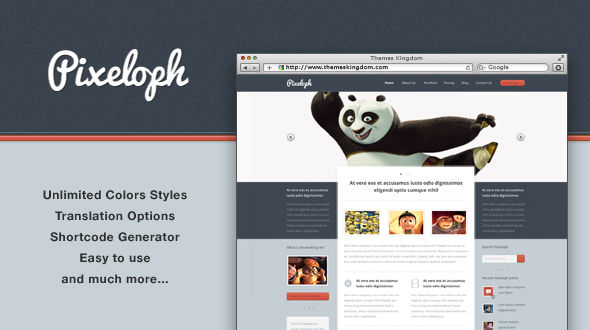 Pixeloph WordPress Themes