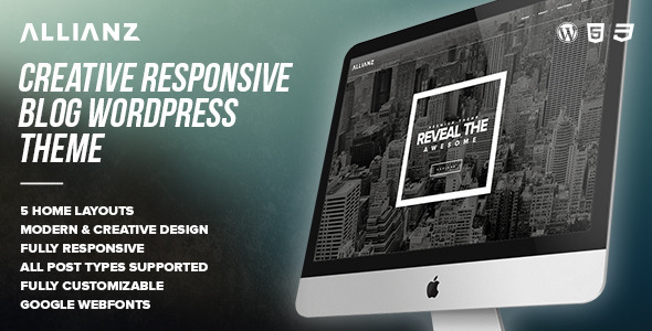Allianz – Modern Responsive WordPress Blog Theme