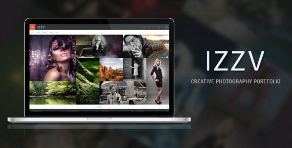 Izza – Responsive Photography Portfolio WP Theme
