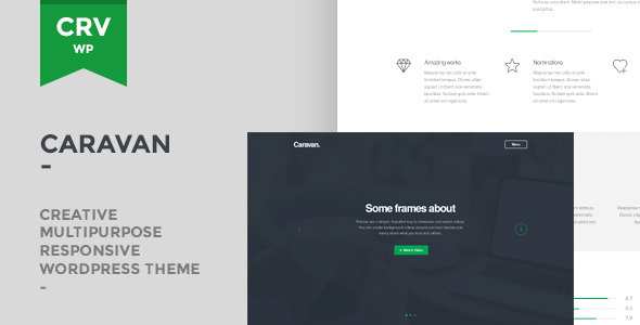 Caravan Responsive Multi-Purpose WordPress Theme