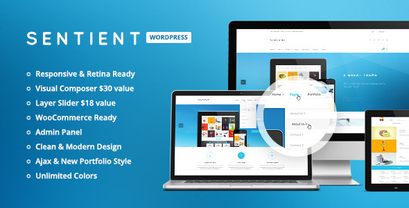 Sentient – Responsive Multi-Purpose Theme
