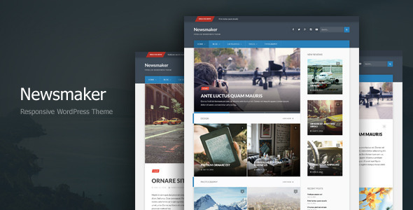 Newsmaker – Responsive WordPress Theme