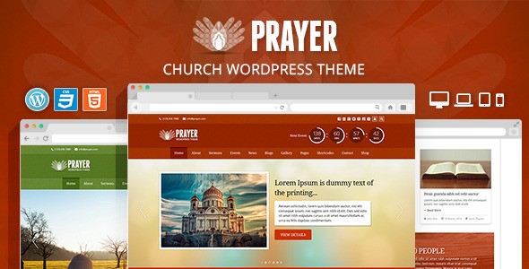 Prayer – Church Responsive WordPress Theme
