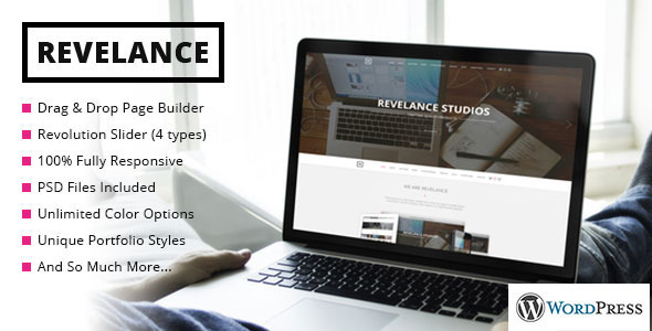 Revelance – Multi/One-Page Business Parallax Theme