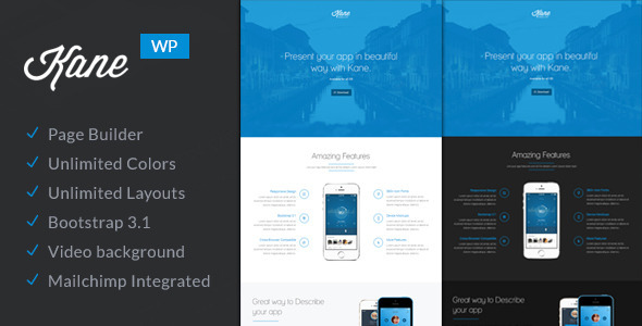 Kane – Responsive and Flexible WordPress Theme