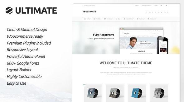 Ultimate | Responsive Multipurpose Theme