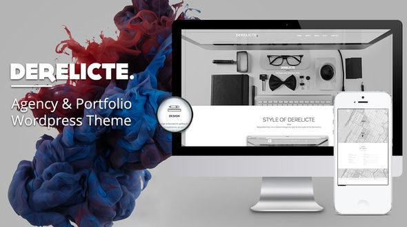 Derelicte – Agency & Portfolio WordPress Theme