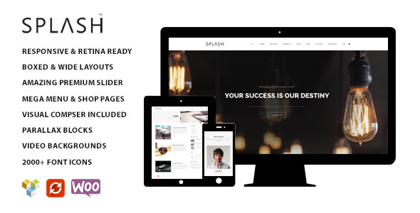 Splash – Multipurpose WordPress Theme