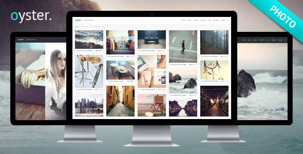 Oyster – Creative Photo WordPress Theme