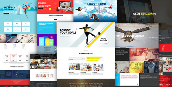 ENJOOY – Responsive Multi-Purpose WordPress Theme