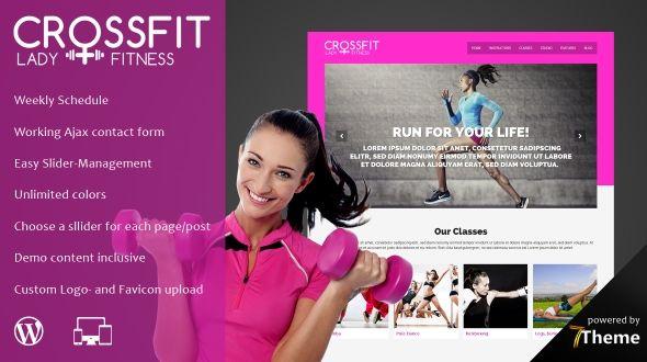 Crossfit – Responsive WordPress Sport & Gym Theme