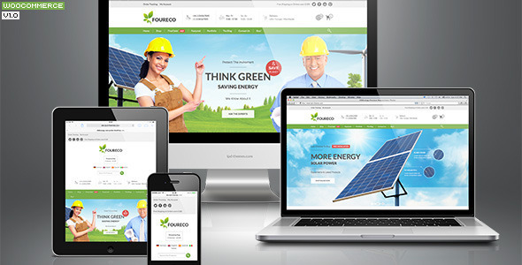456Ecology eCommerce WordPress Theme
