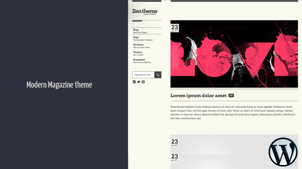 Zen WordPress Theme