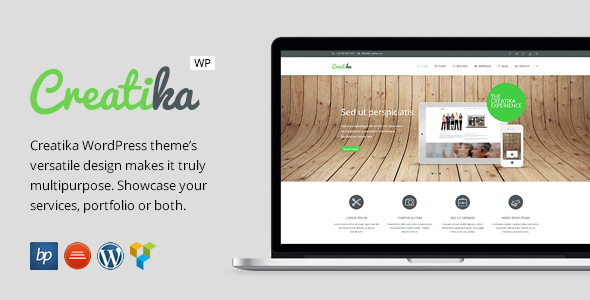Creatika – Responsive Business WordPress Theme