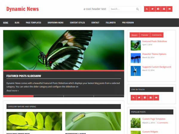 Dynamic News