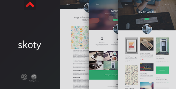 Skoty – Responsive Multipurpose Blogging Theme