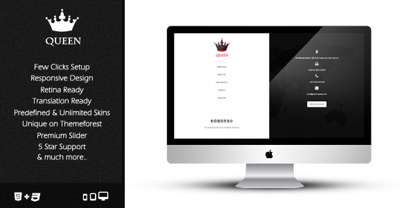Queen – Clean & Unique Multipurpose Theme