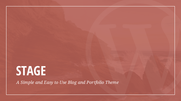 Stage – A Clean Responsive Portfolio & Blog Theme