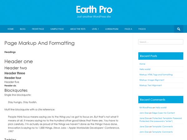 Earth Pro