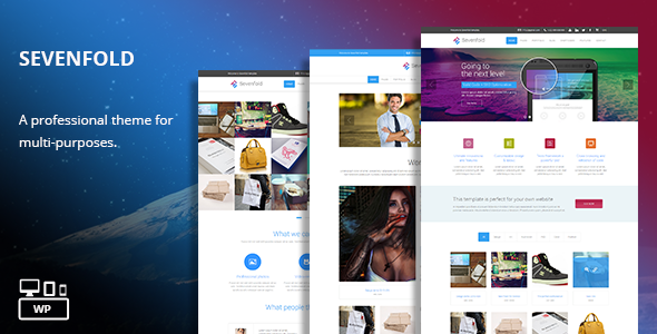 Sevenfold – Multi-Purpose WordPress Theme