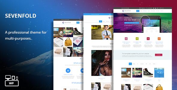 Sevenfold – Multi-Purpose WordPress Theme