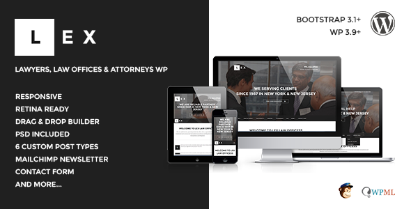 LEX – Law Offices, Lawyers & Attorneys WP