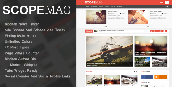 ScoupMag – Smart & Modern Magazine Theme